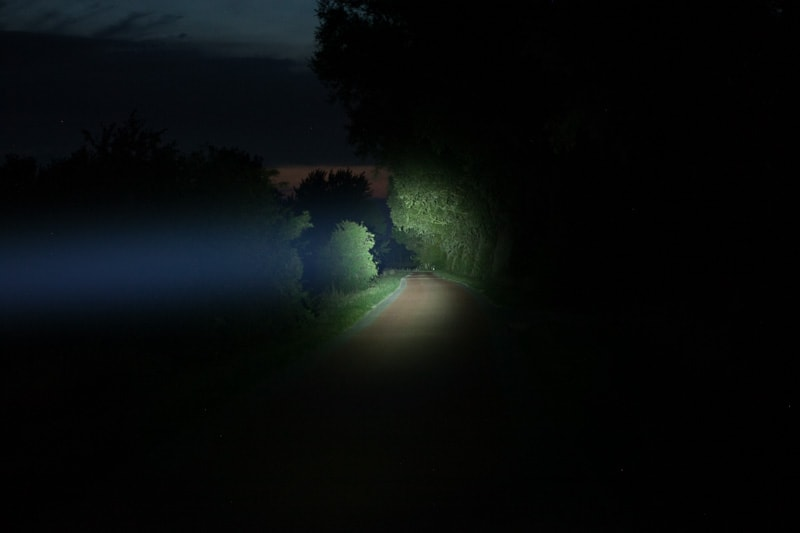 Beamshot of Fenix TK30