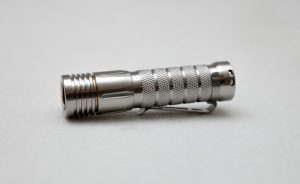 stainless steel flashlight