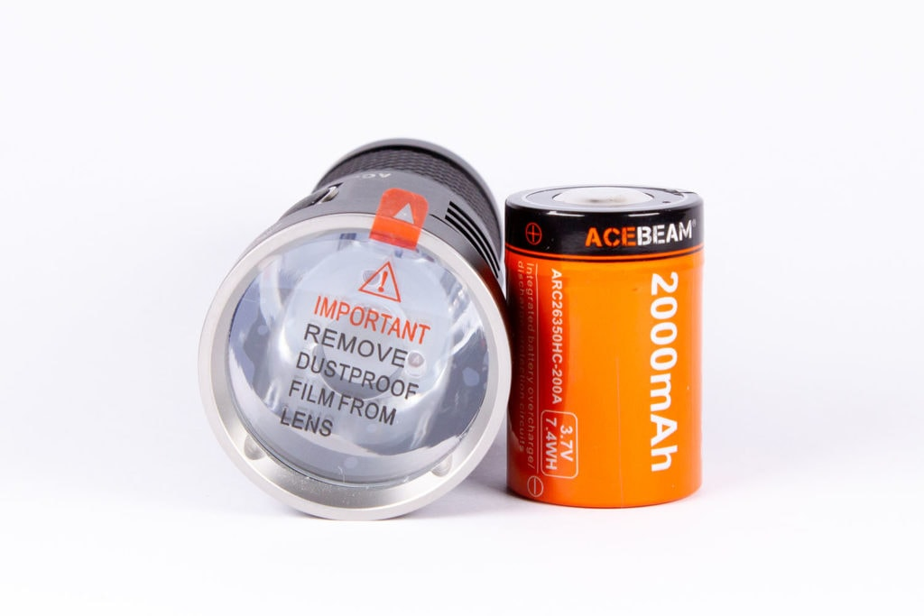 Acebeam E10 protection film