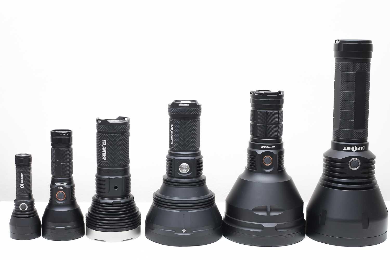 flashlight size comparison