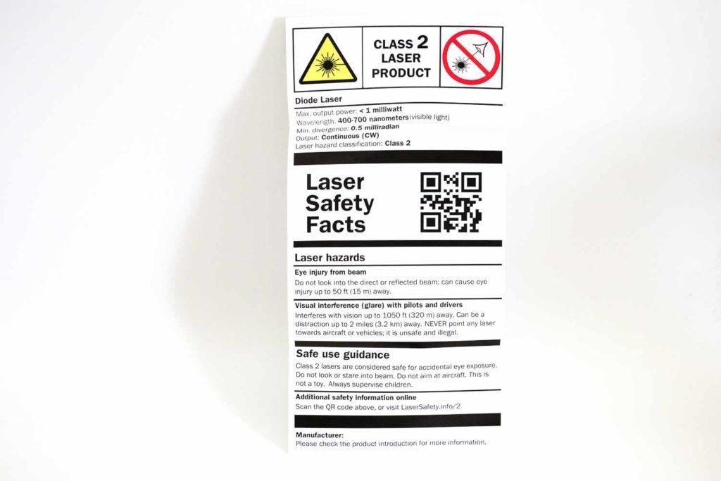 safety warning