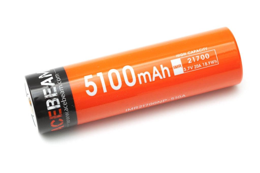 Acebeam 5000mAh lithium ion battery