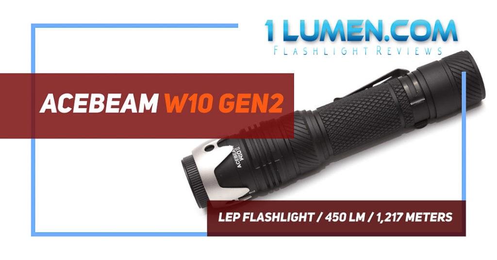 Acebeam W10 gen2 review image