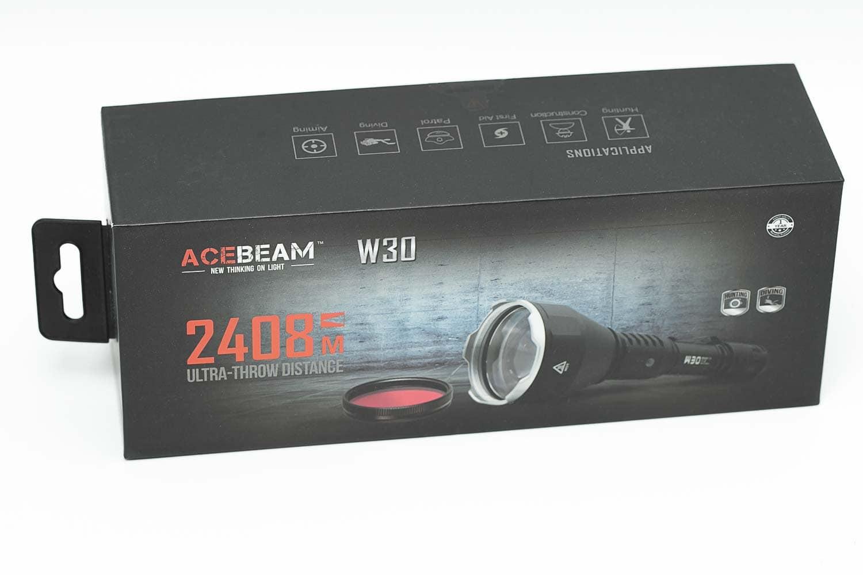 acebeam w30 box