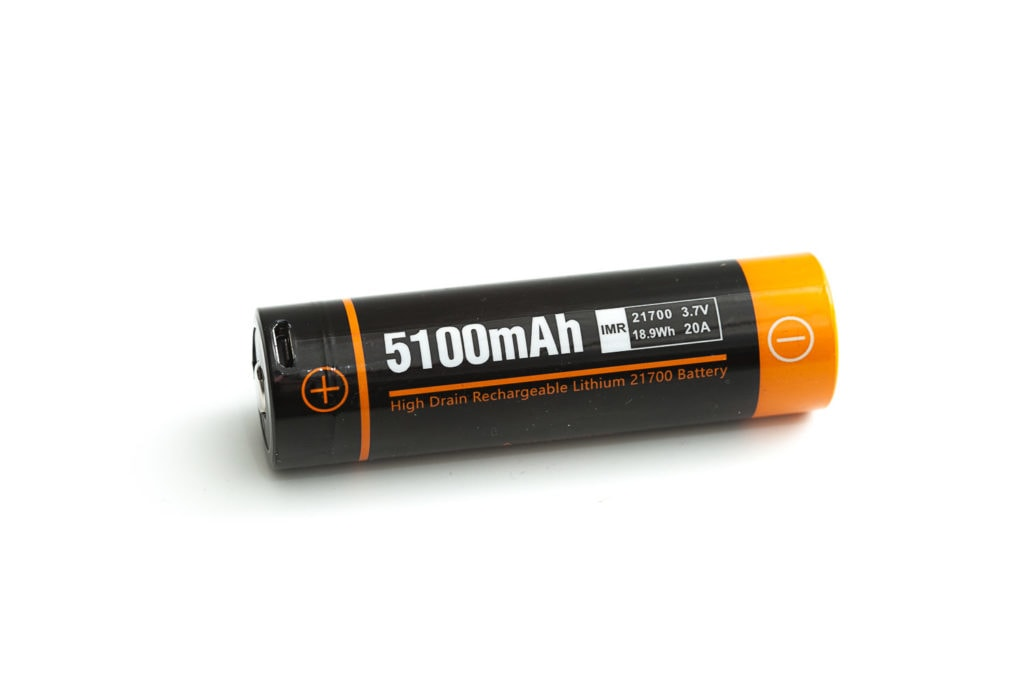 acebeam 21700 battery with USB port