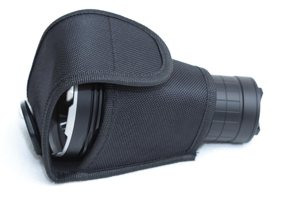Acebeam X45 II in pouch