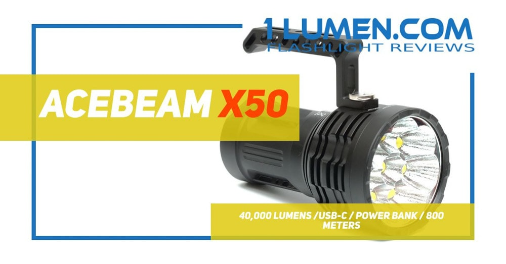Acebeam X50 review