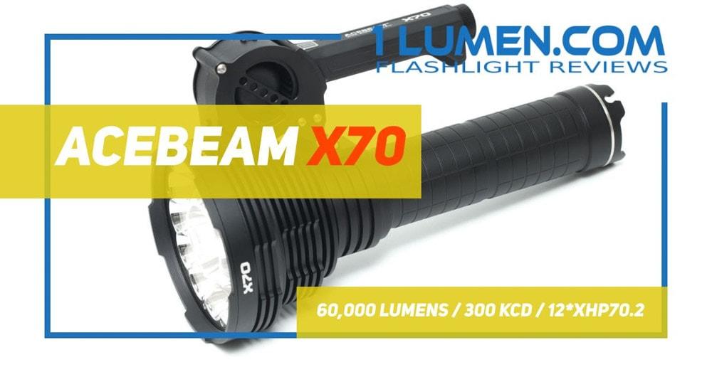 Acebeam X70 review