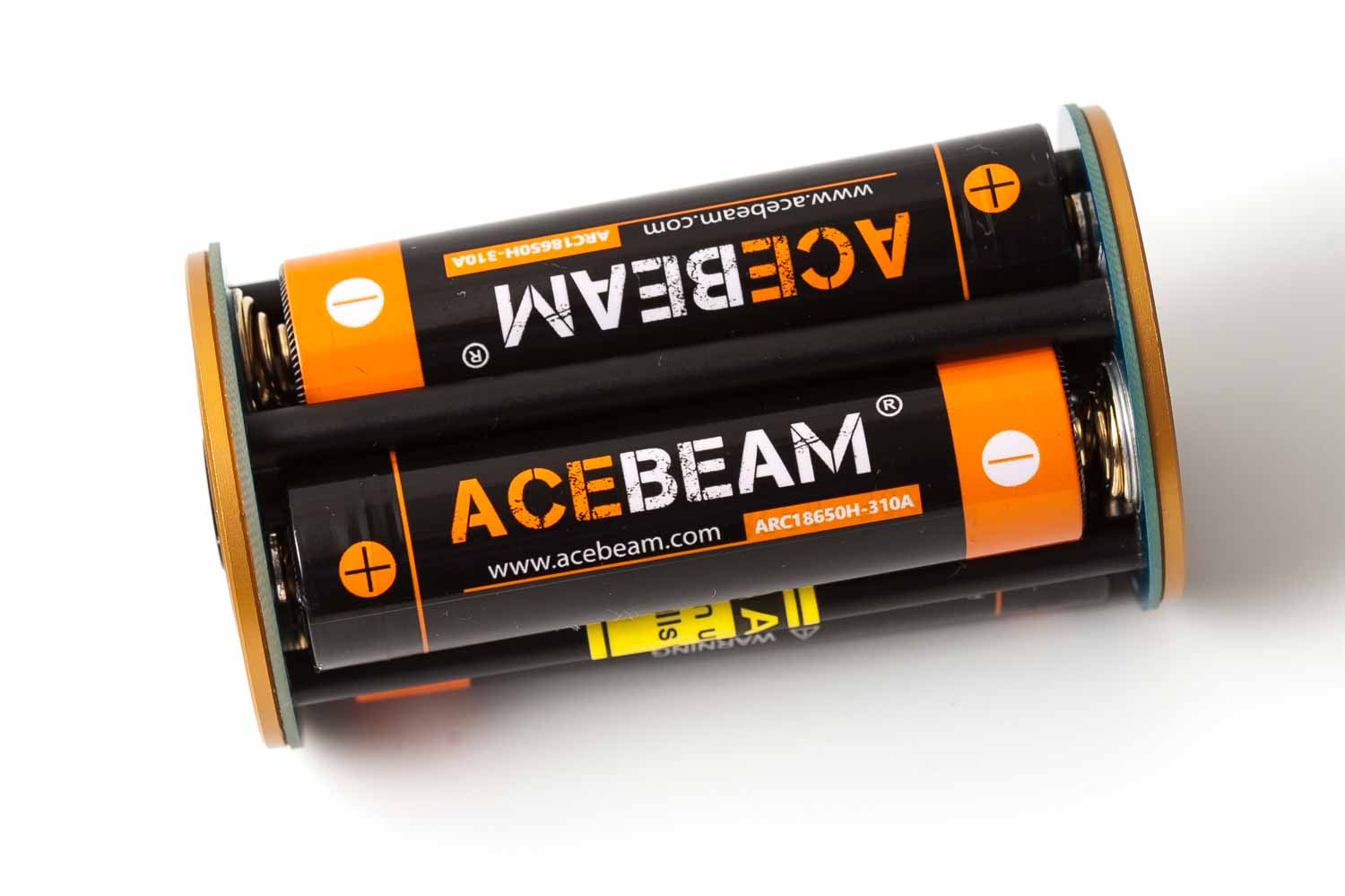 battery carrier with acebeam batteries
