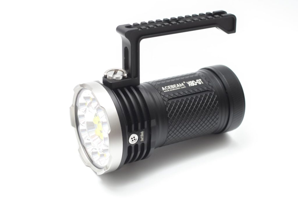acebeam x80 gt including the carry handle