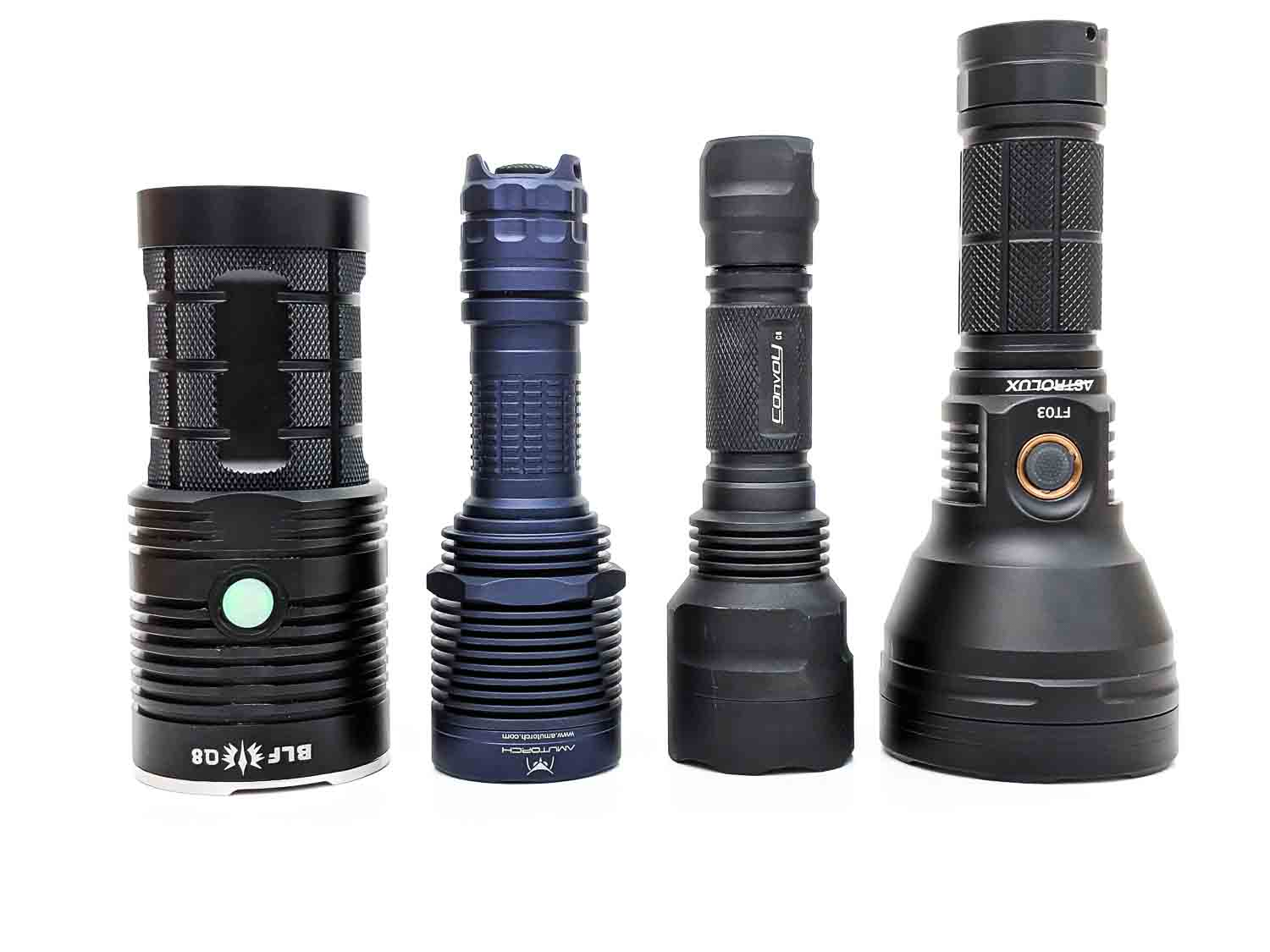 amutorch xt45 compared to other flashights