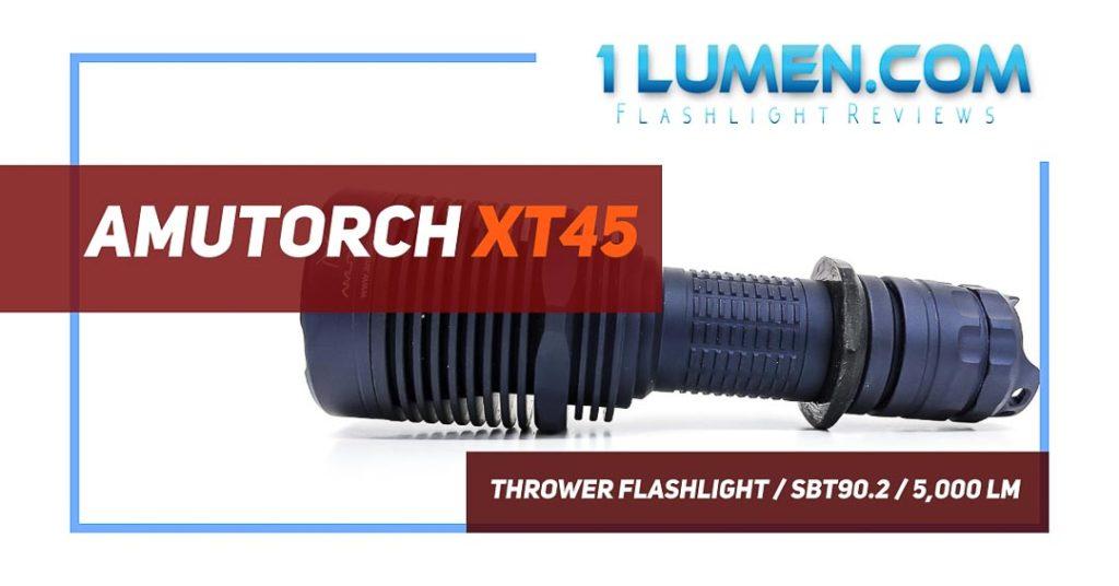 Amutorch XT45 review image