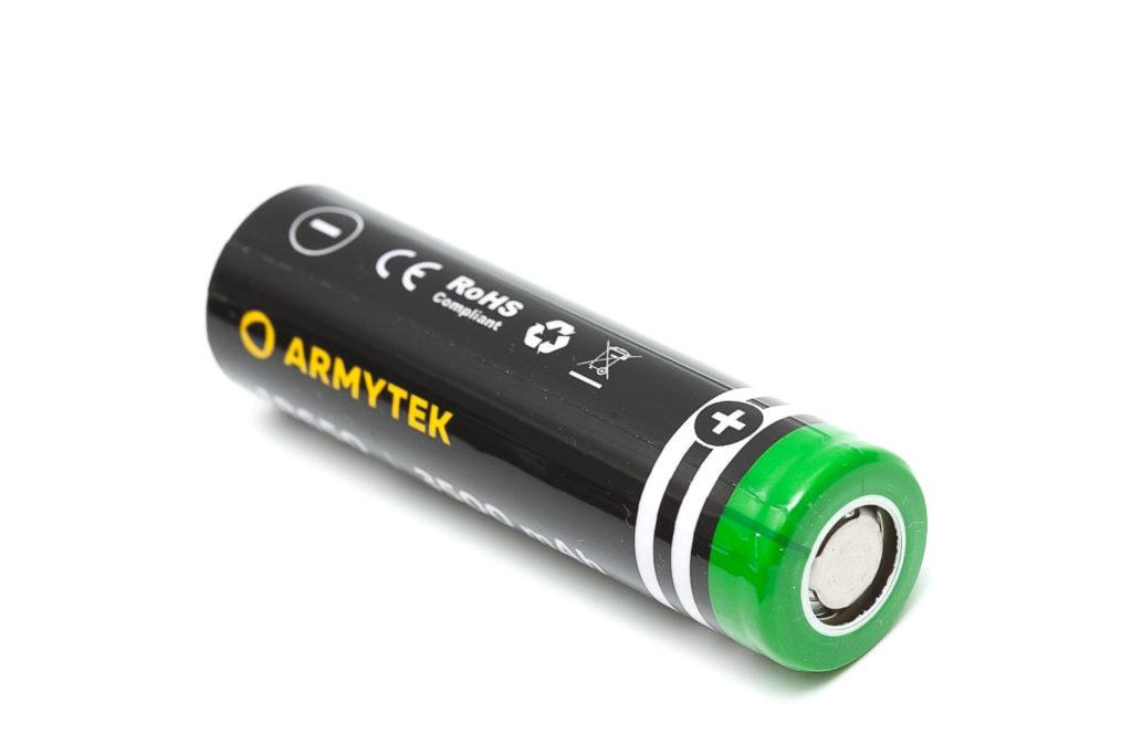 Armytek 18650 battery