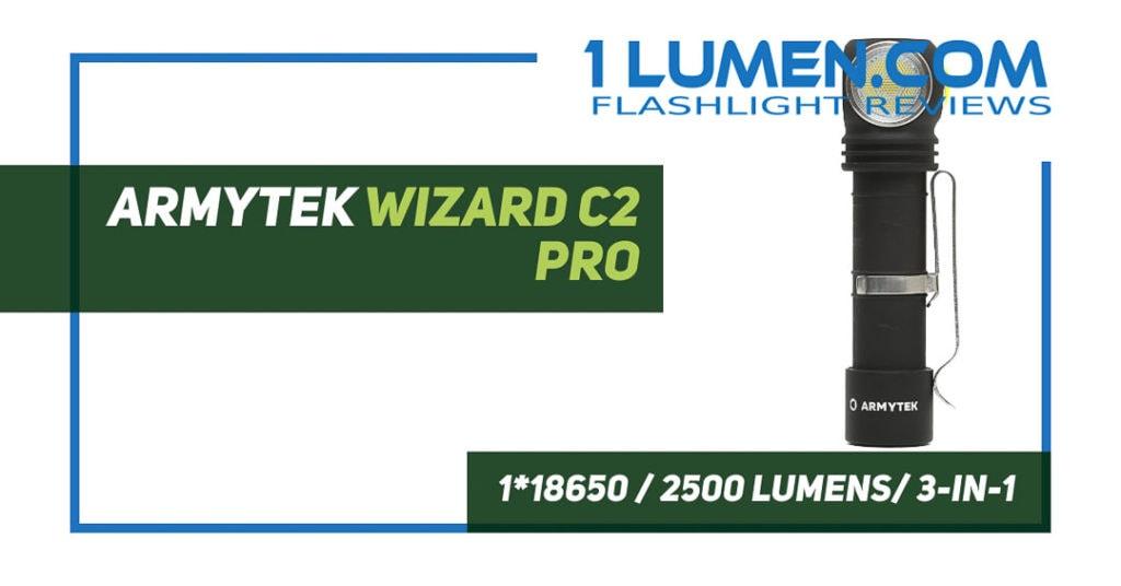 Armytek Wizard C2 PRO review