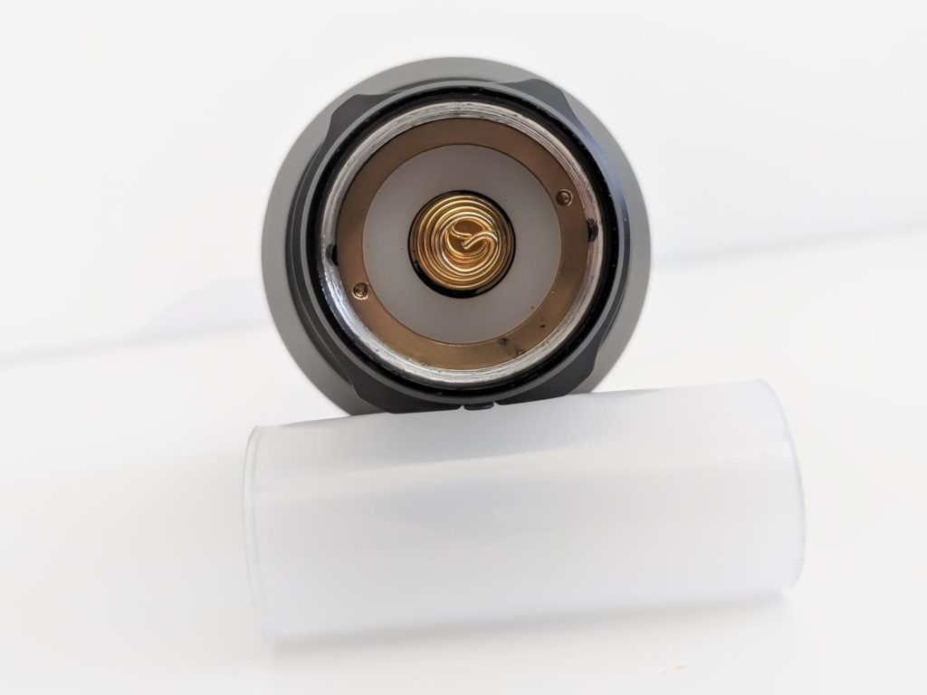 Battery adapter 21700 to 18650