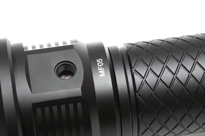 close up of tripod attachment