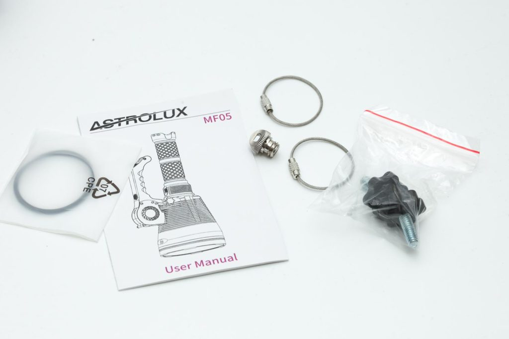 Astrolux MF05 accessories