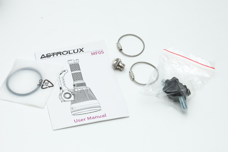 Astrolux MF05 accessories