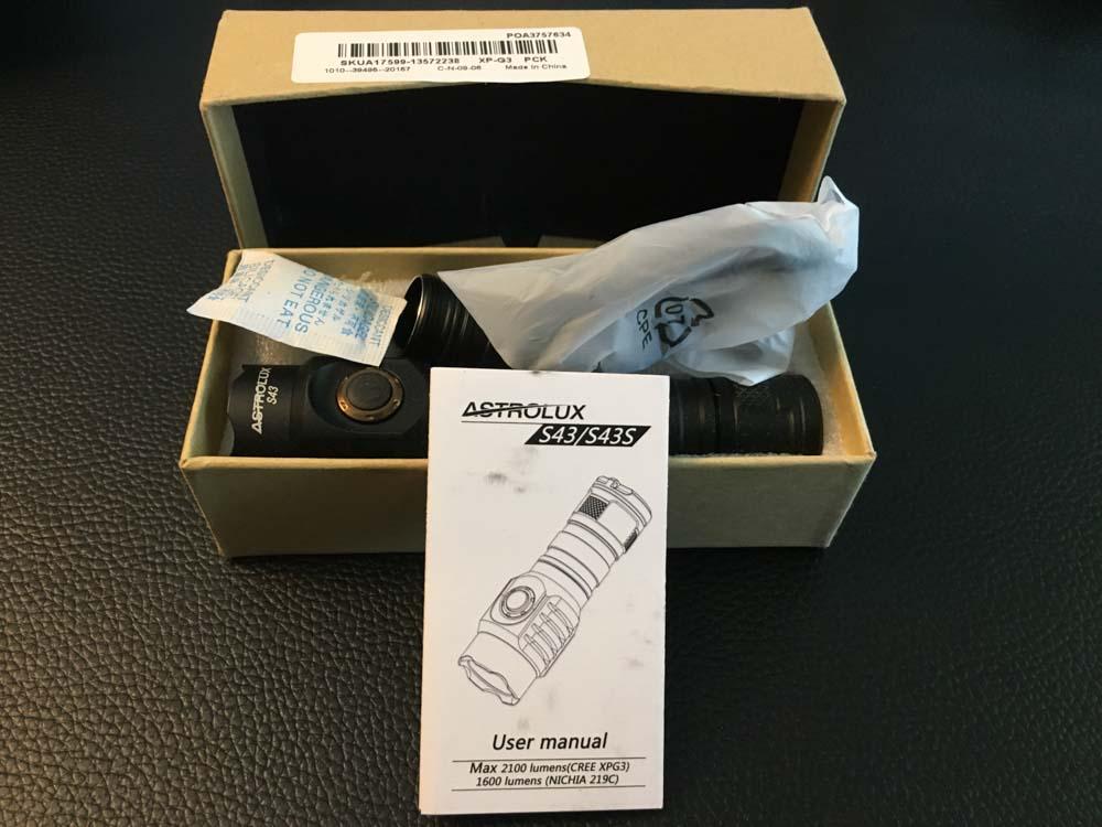 Astrolux S43 box