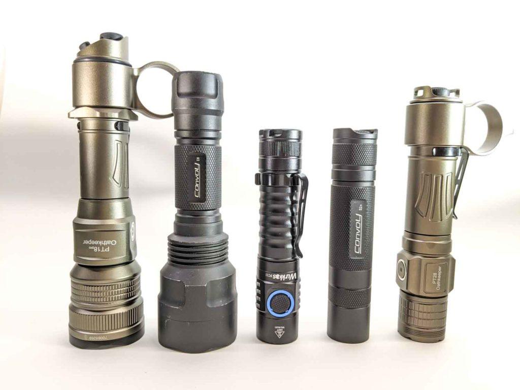 5 well known flashlights