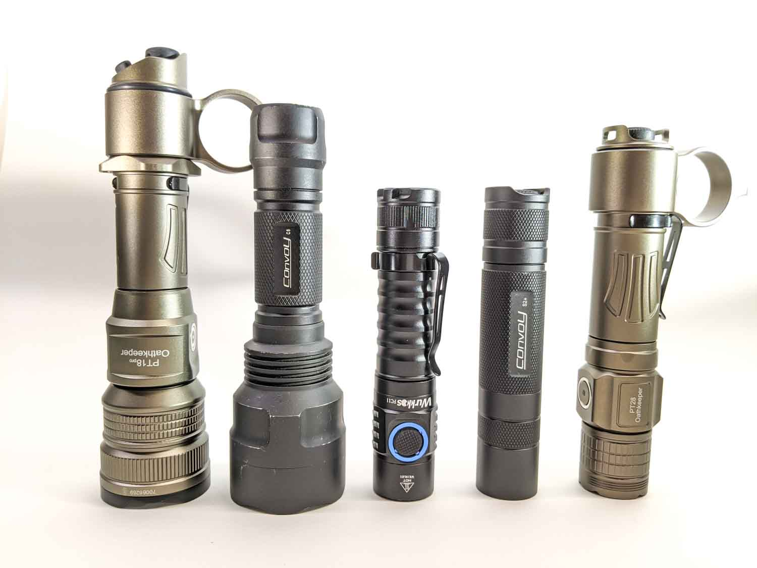 5 well known flashlights