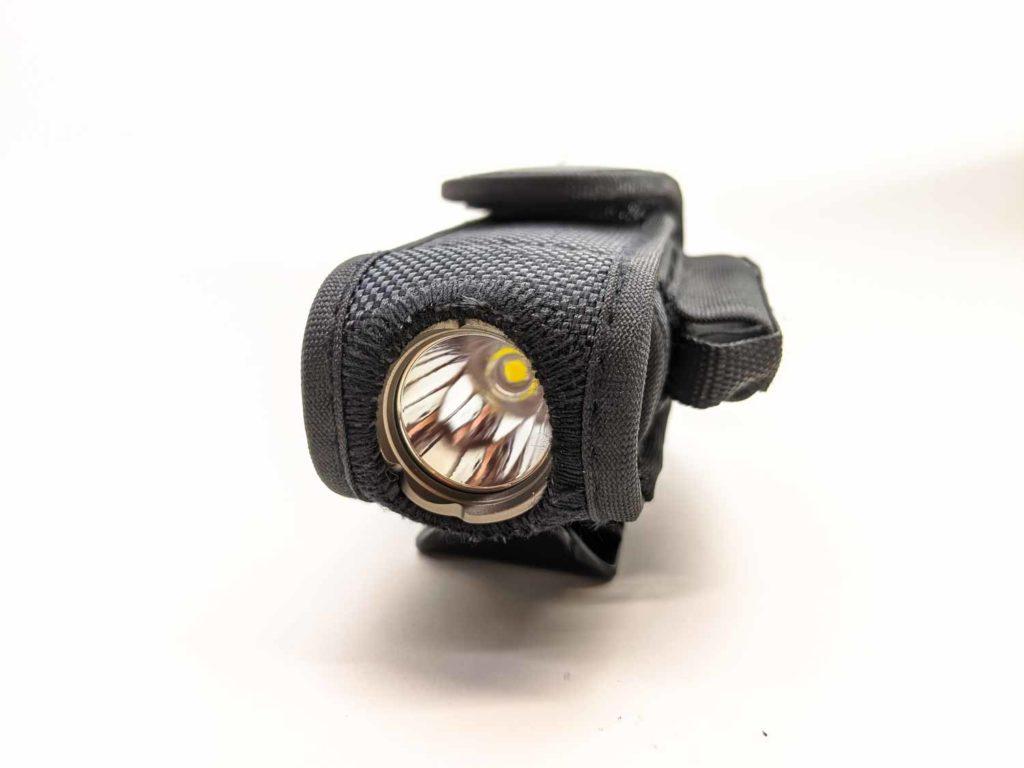 brinyte flashlight inside holster