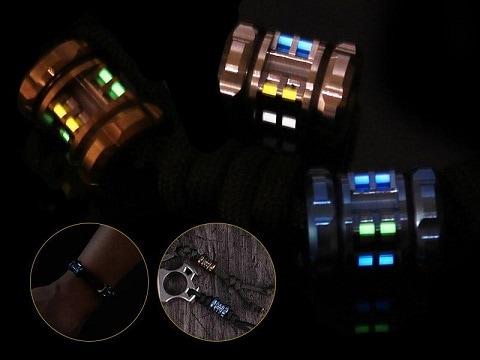 EDC flashlight accessories trits pendants
