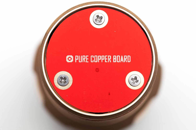 copper negative contact board