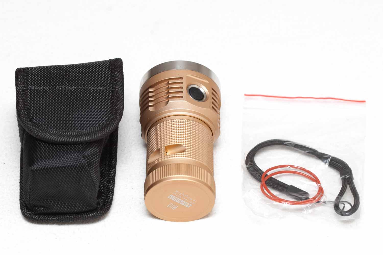 Emisar D18 accessories