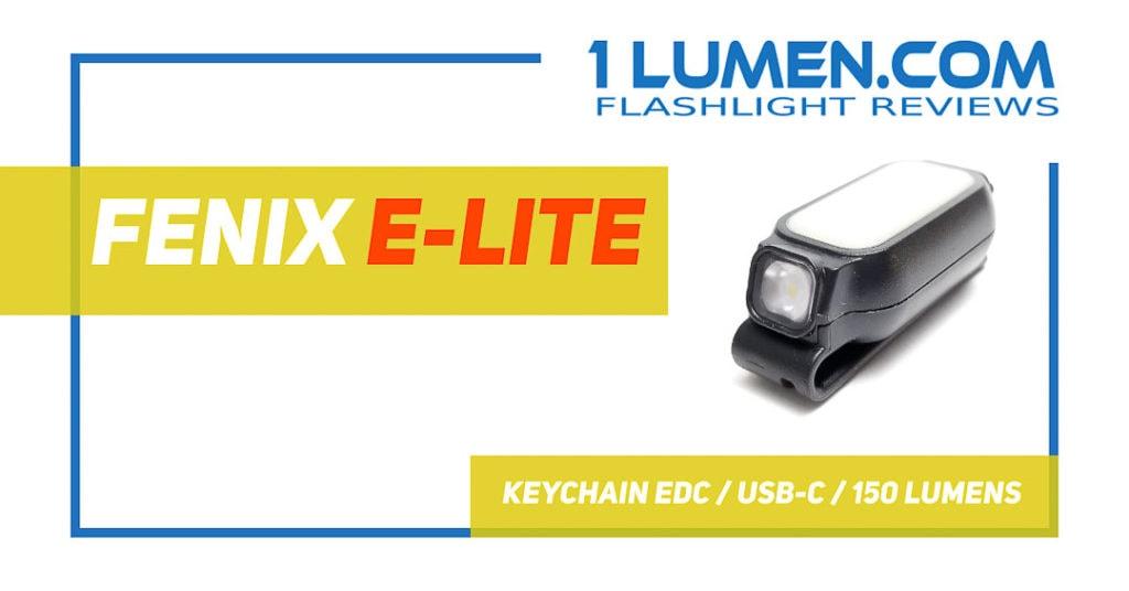 Fenix E-LIte review