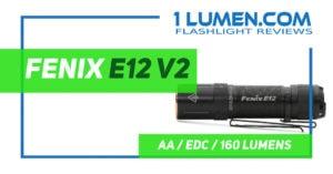 Fenix E12 v2 review