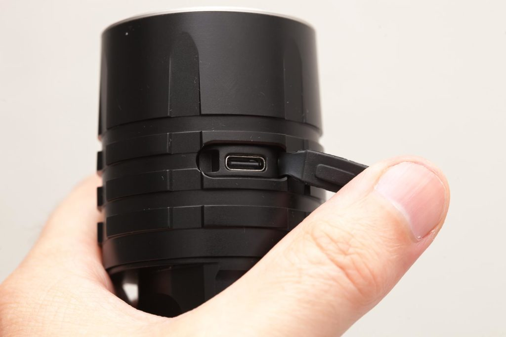 Fenix LR35R charge port