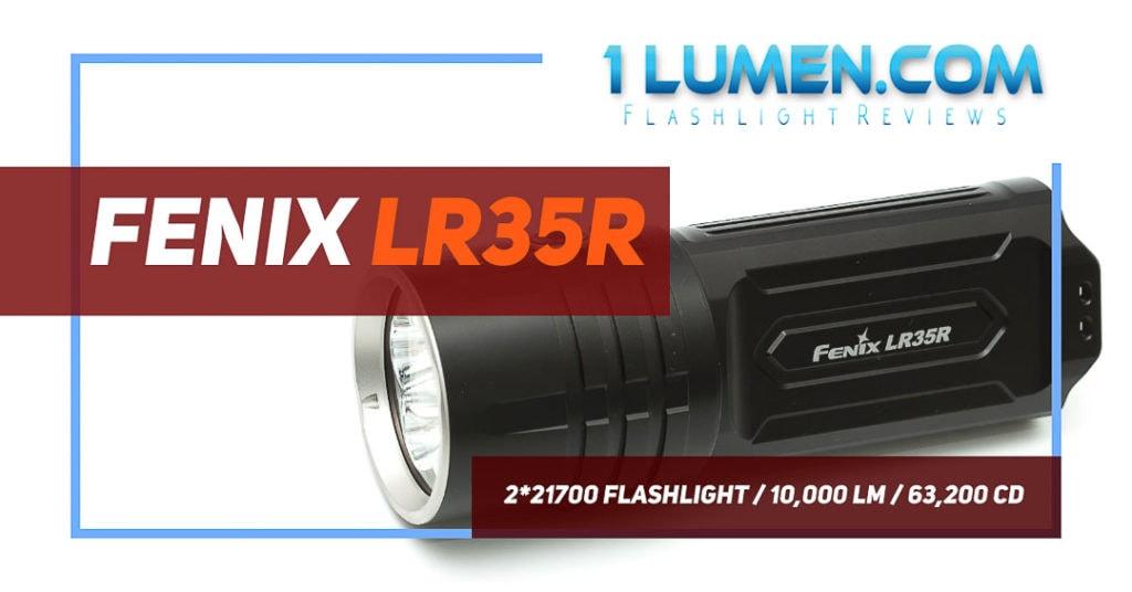 Fenix LR35R review image