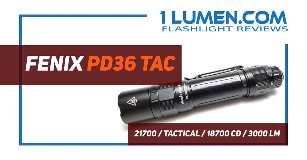 Fenix PD36 Tac review
