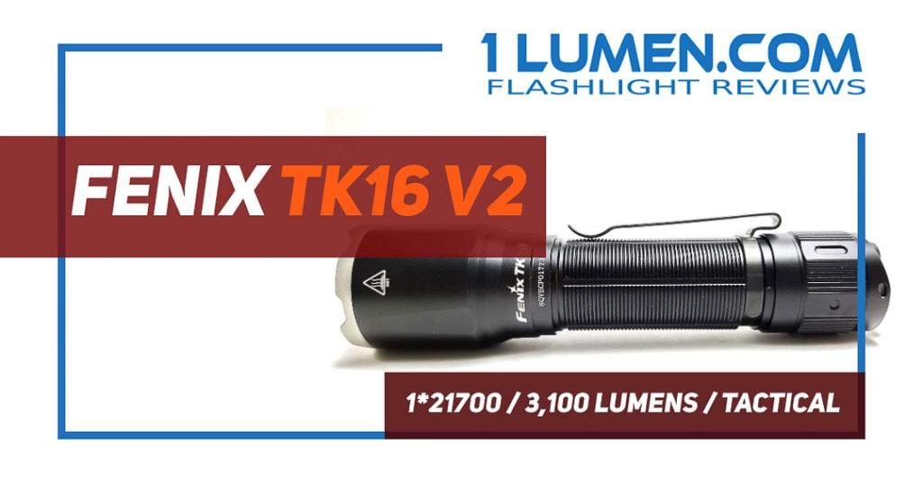 Fenix TK16 v2 review