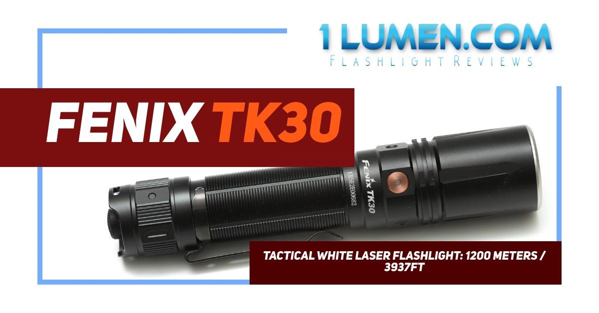 fenix tk30 review