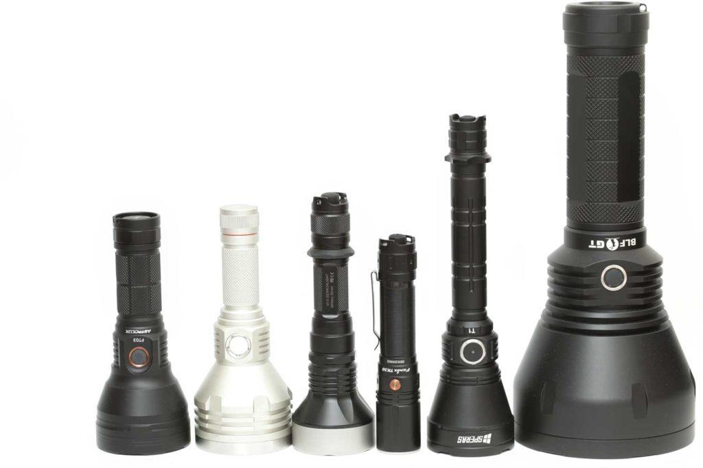 popular long-range flashlights