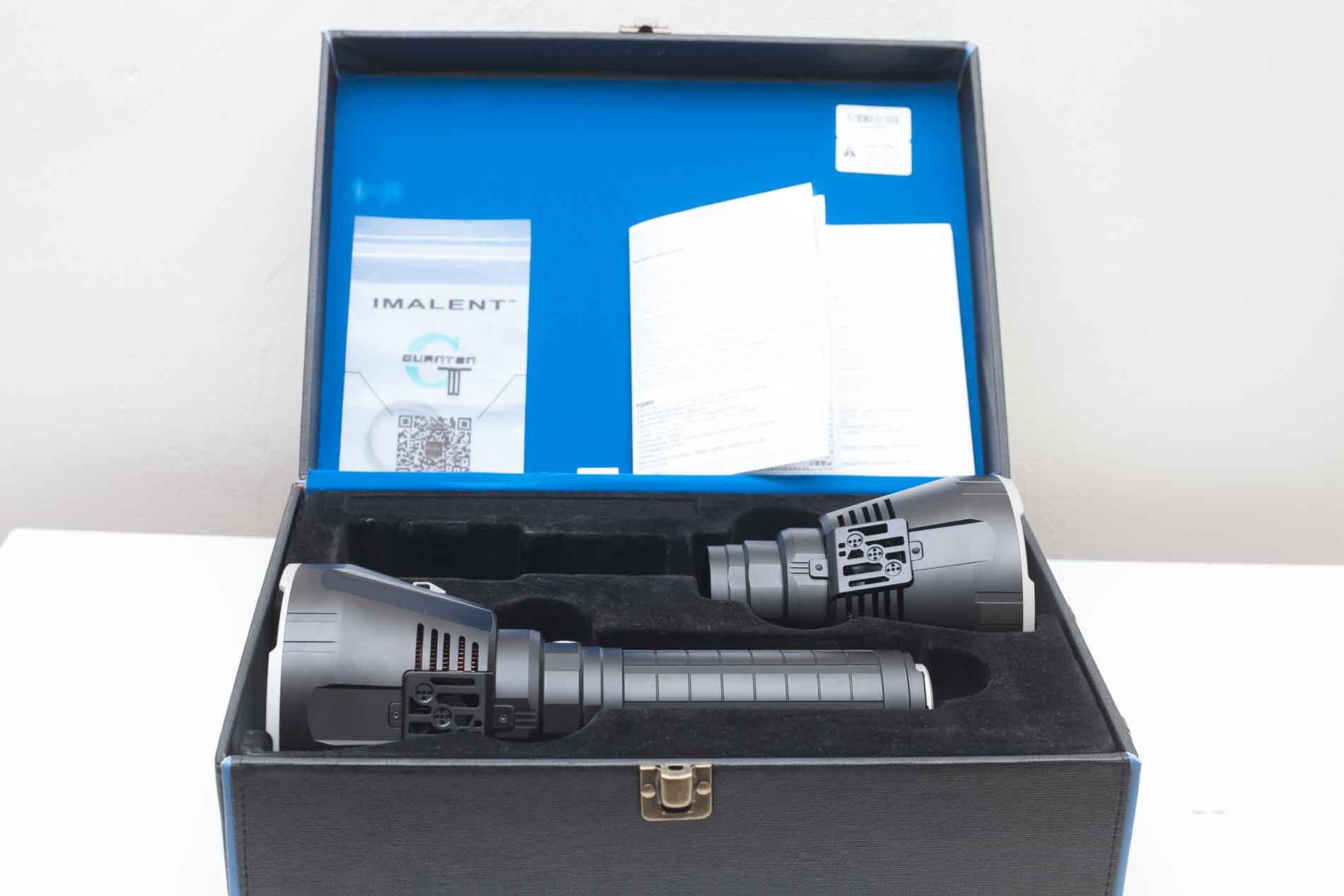 Imalent R90TS box
