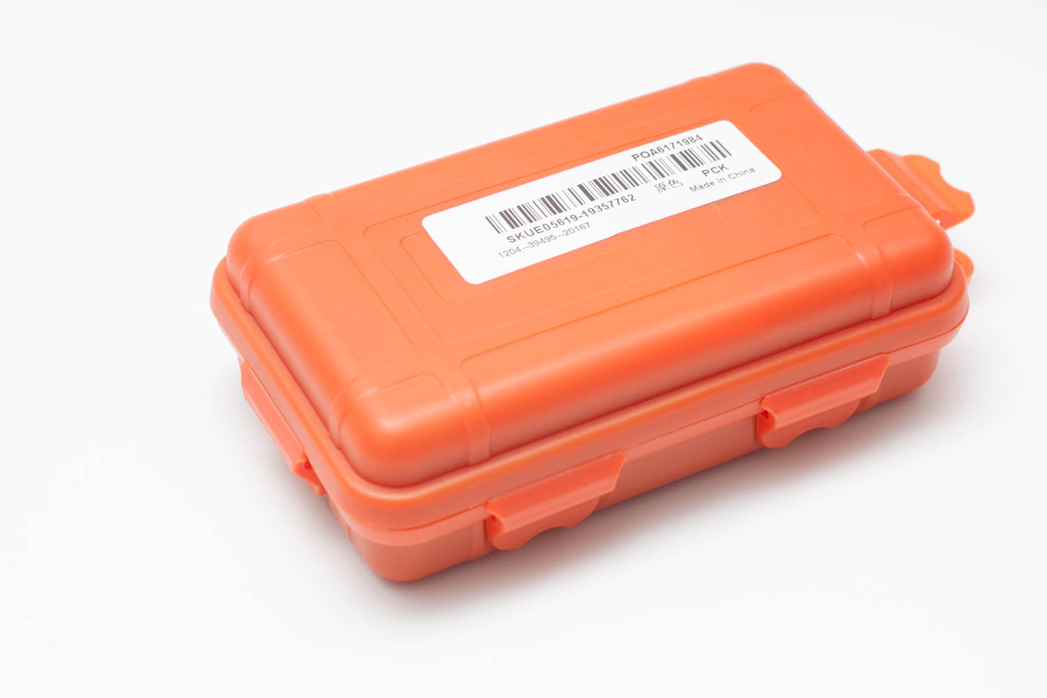 orange storage case for Jetbeam Dm25 flashlight