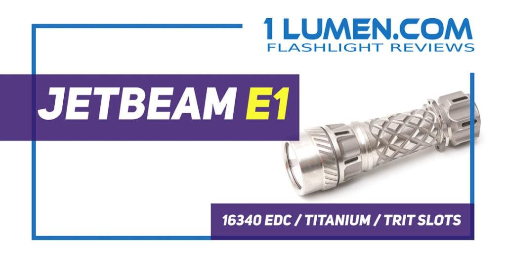 Jetbeam E1 review page