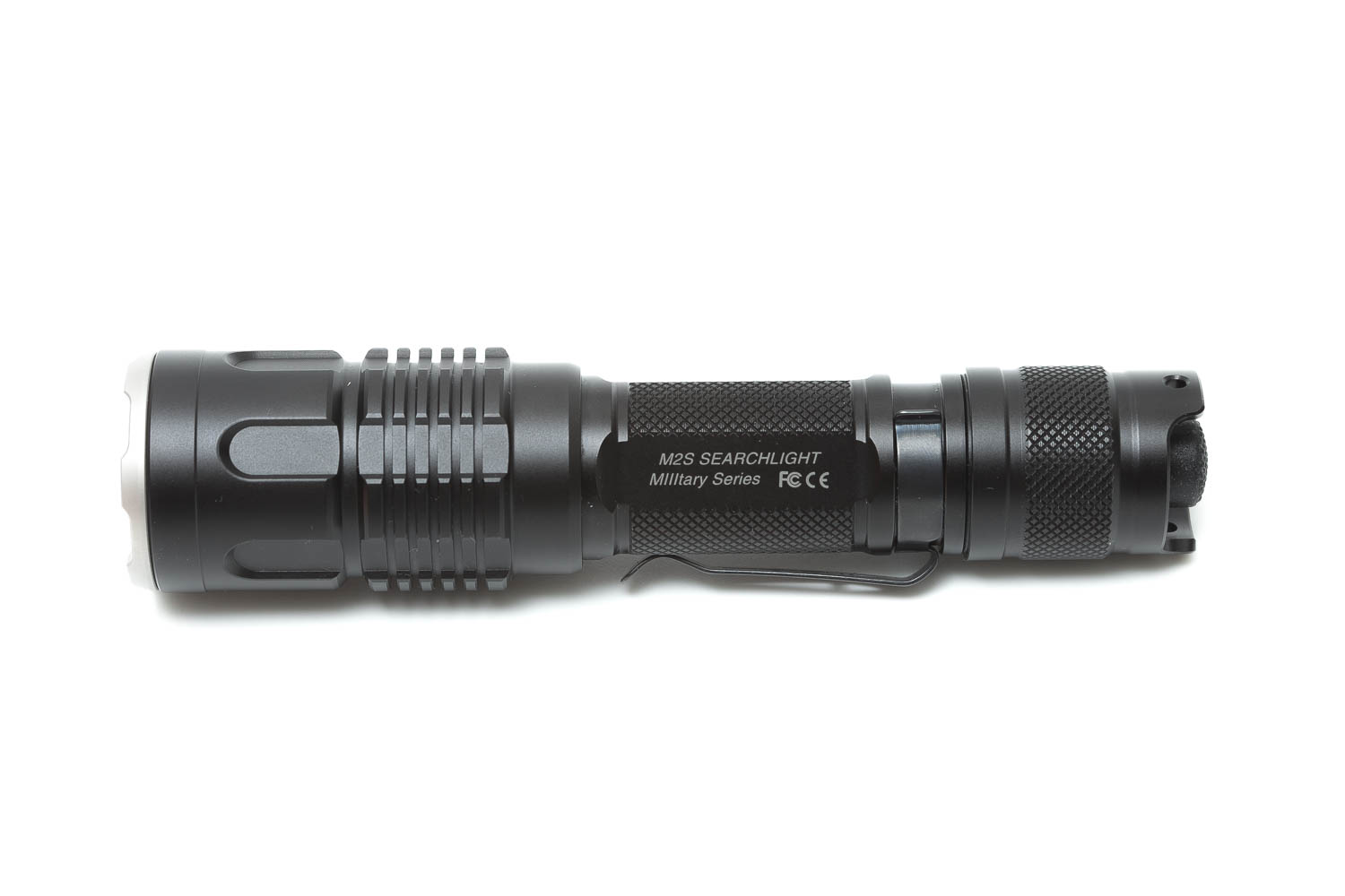 side view of Jetbeam M2S WP-RX on white background