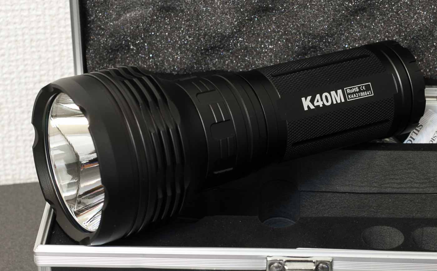 k40m on case