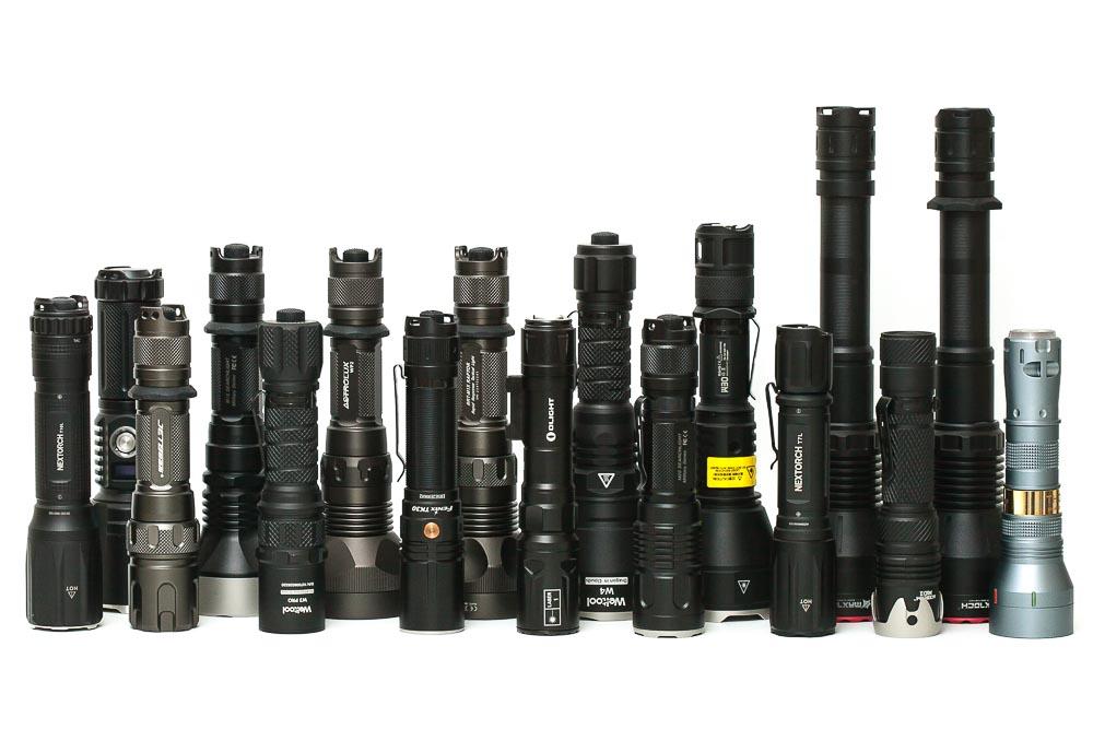 LEP flashlights