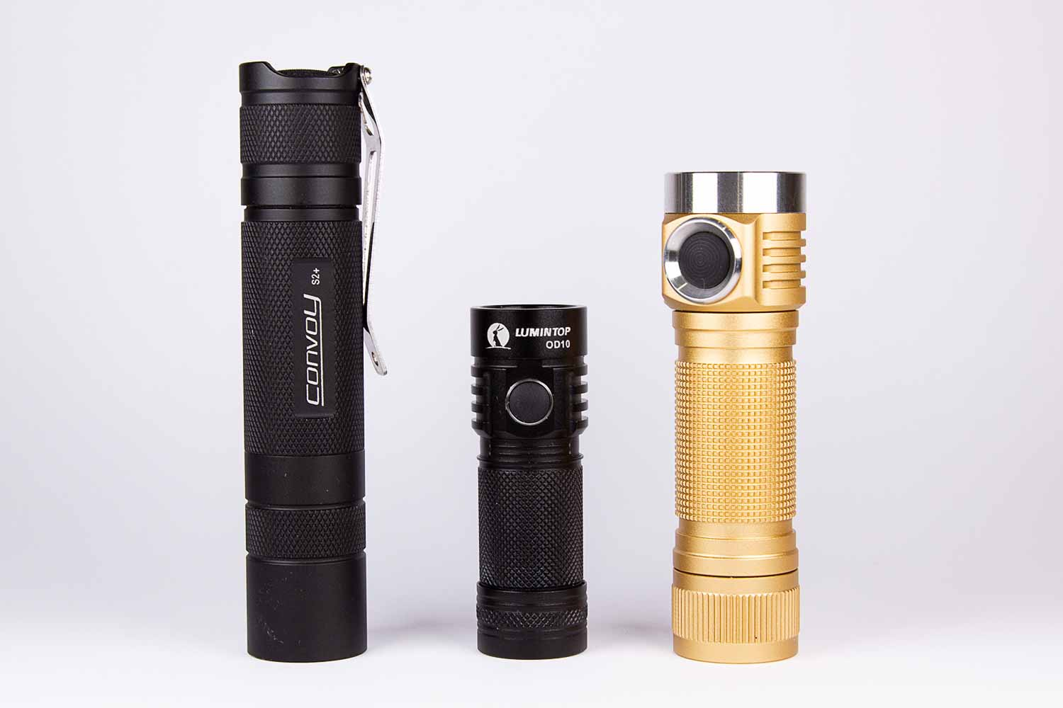 Lumintop OD10 size comparison