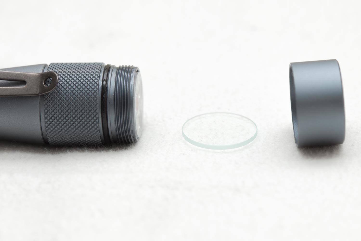flashlight optics