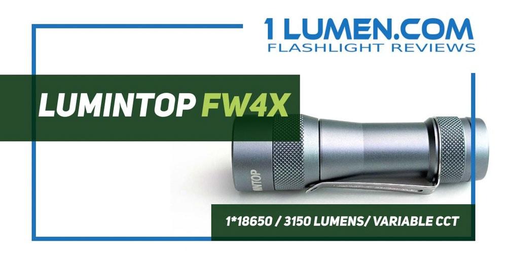 Lumintop FW4X review