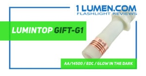 Lumintop Gift G1 review
