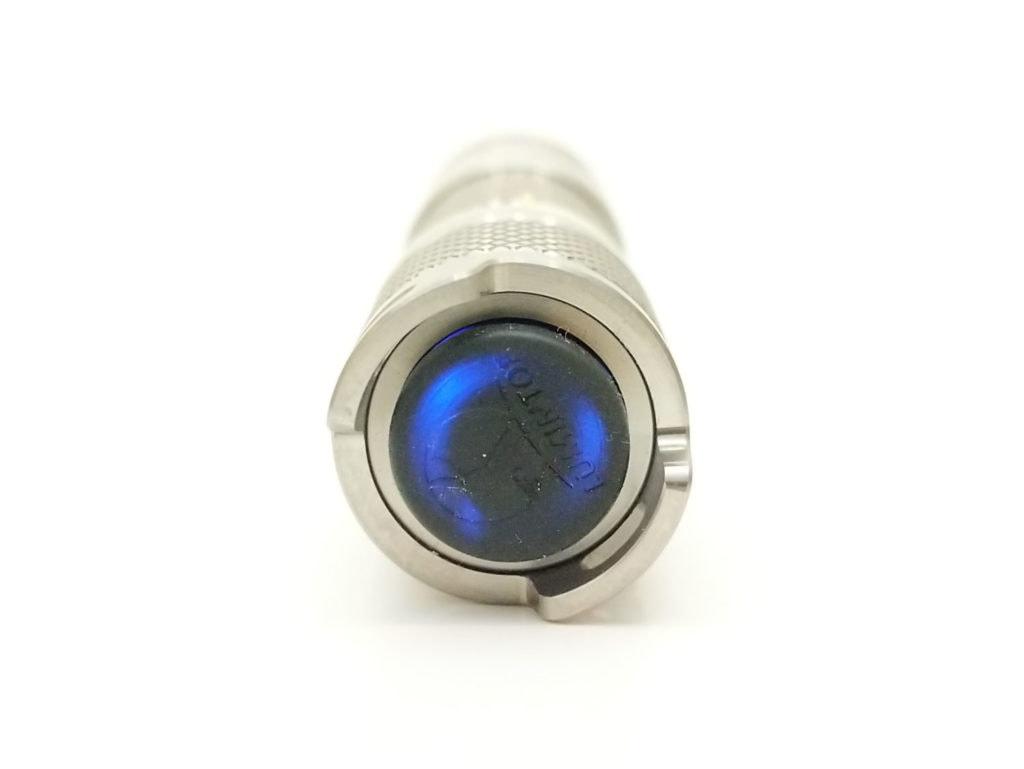 blue switch led