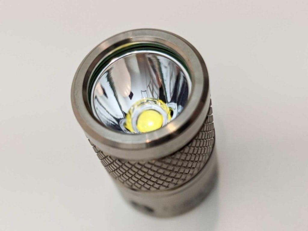 lumintop tool titanium bezel and reflector