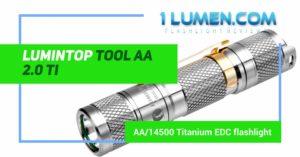 Lumintop tool AA ti review